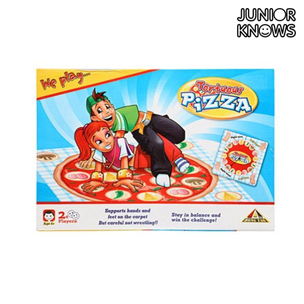 Image of   Det Indviklede Pizzaspil til Børn