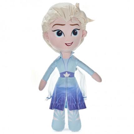 Image of   Disney Frozen 2 Elsa Blød Bamse - 50cm