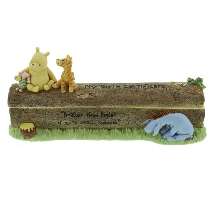 Image of   Disney Klassisk Plys Fødselsattest Holder