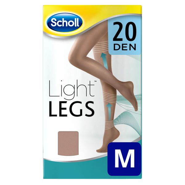 Image of   Dr Scholl 20 Den Natural Light Kompressionsstrømper - M