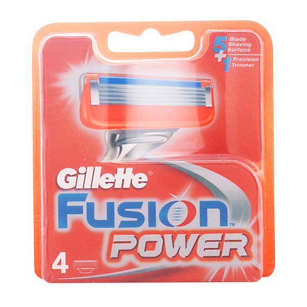 Image of   Ekstra barberblade Fusion Power Gillette (4 uds)