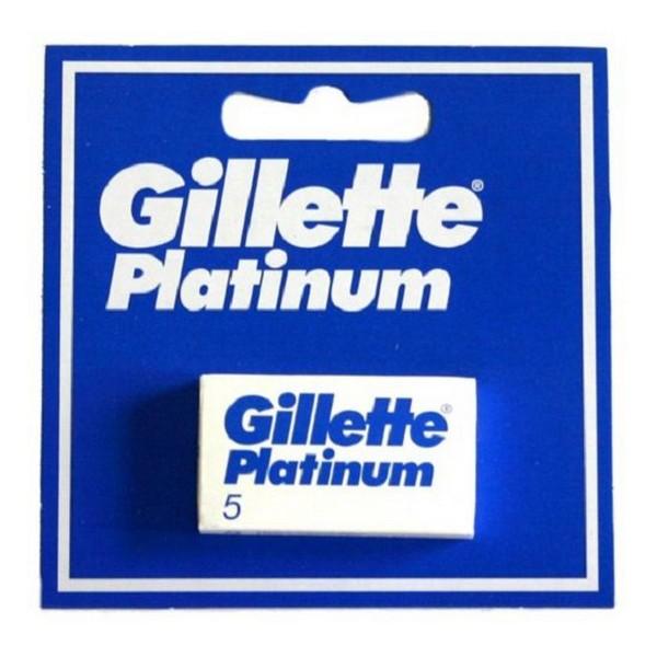 Image of   Ekstra barberblade Platinum Gillette (5 uds)