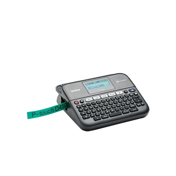 Image of   Electronic Labeller with Keyboard and PC Connection Brother FIMITE0159 PTD450VPUR1 Qwerty (65) LED 6 x AA (LR6/HR6)