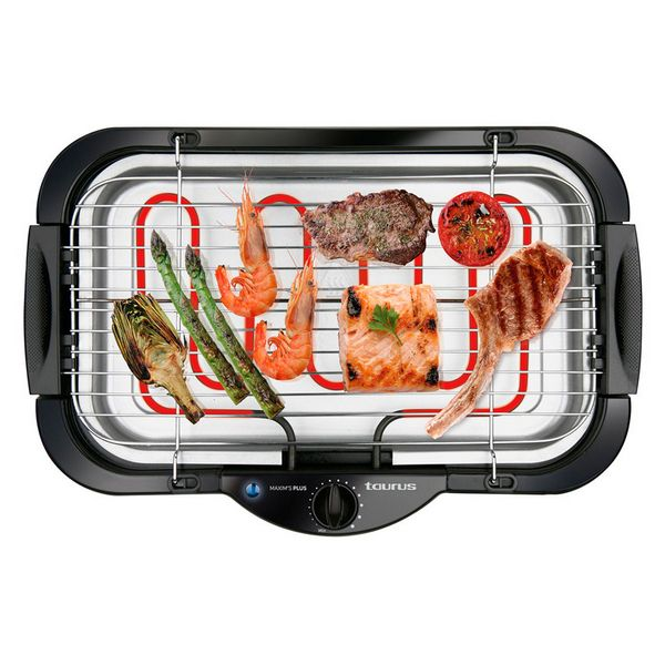 Image of   Elektrisk Grill Taurus Maxims Plus 2000W Sort