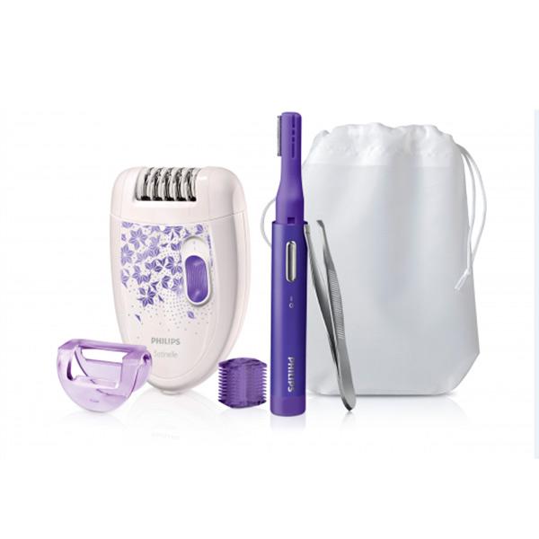 Image of   Elektrisk hårfjerner Philips HP6543/00 Violet Hvid
