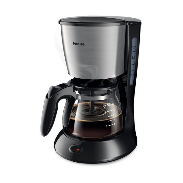 Image of   Elektrisk kaffemaskine Philips HD7435/20 700 W Sort