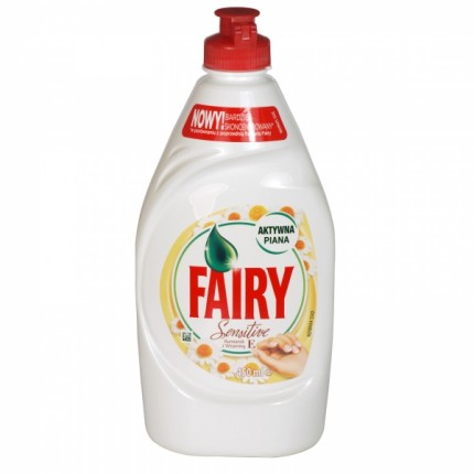 Image of   Fairy Opvaskemiddel 450 ml - Kamille