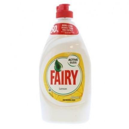 Image of   Fairy Opvaskemiddel 450 ml - Lemon