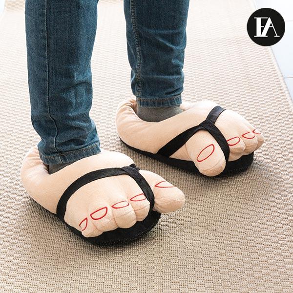 Hjemmesko der ligner fødder