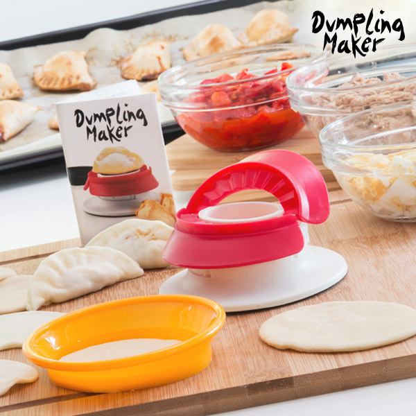 Image of   Fast & Easy Dumpling Maker Pasty og Fyldt Pasta Form