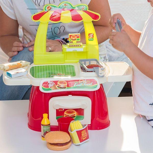 Image of   Fast Food-spil med Tilbehør