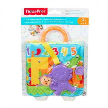 Image of   Fisher Price 1-5 Aktivitetsbog