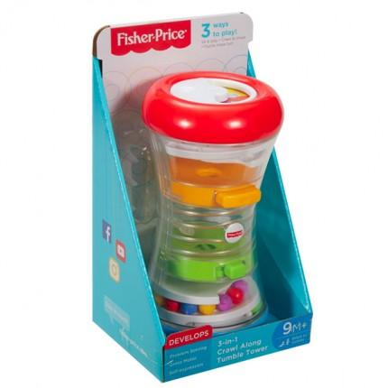 Image of   Fisher Price 3-in-1 Crawl Along Tumble Tower