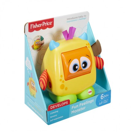 Image of   Fisher-Price Fun Feelings Monster