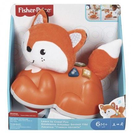 Image of   Fisher Price Learn To Crawl Fox