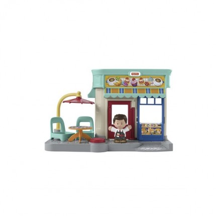 Image of   Fisher Price Little People Bakery Playset