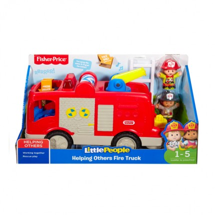 Image of   Fisher Price Little People Brandbil