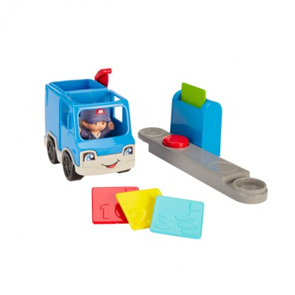 Image of   Fisher Price Little People Postbil