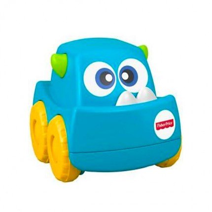 Image of   Fisher Price Mini Monster Truck Blå