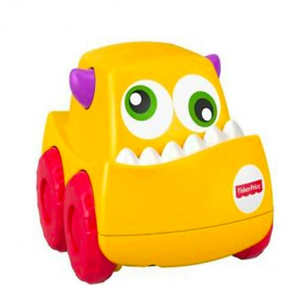 Image of   Fisher Price Mini Monster Truck Gul