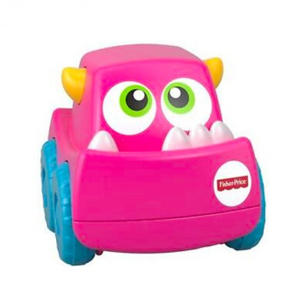 Image of   Fisher Price Mini Monster Truck Pink