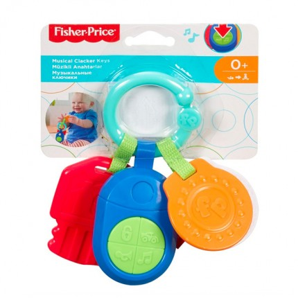 Image of   Fisher Price Musik Nøgler