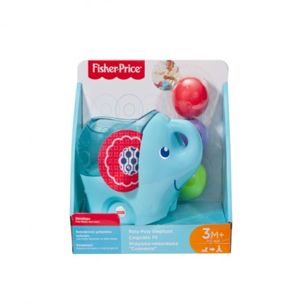 Image of   Fisher Price Roly-Poly Elefant