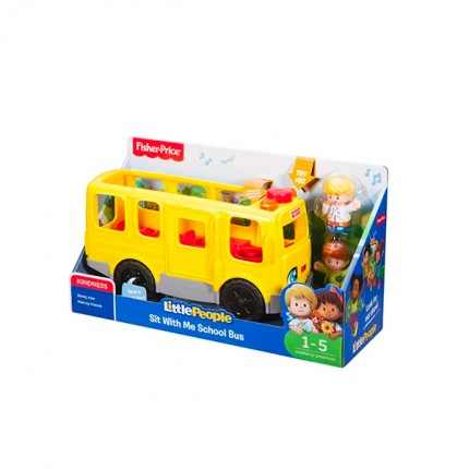 Image of   Fisher Price Skolebus Dansk Tale