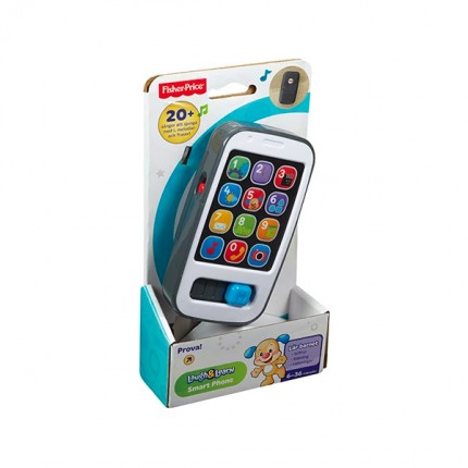 Image of   Fisher Price Smart Phone Dansk Tale