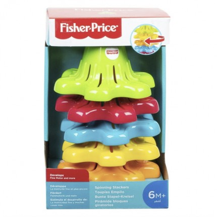 Image of   Fisher Price Spinning Stackers
