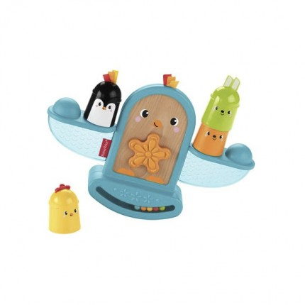 Image of   Fisher Price Stack And Rattle Birdie