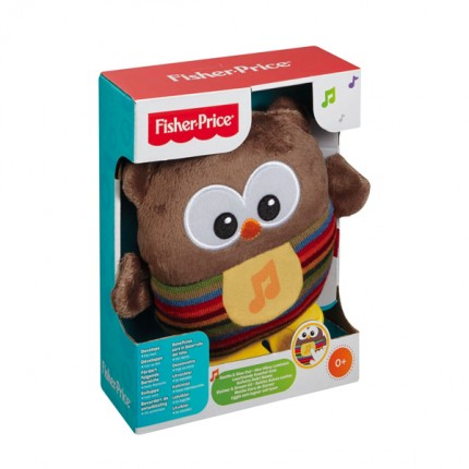 Image of   Fisher Price Ugle med lys/lyde