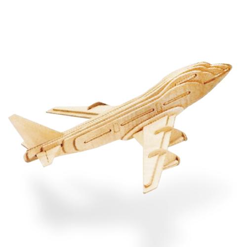 Image of   Flyvemaskinepuslespil i Træ