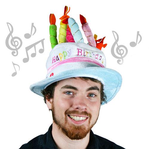 Image of   Fødselsdagshat med Musik