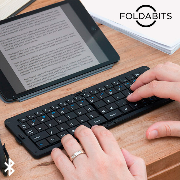 Image of   Foldabits Foldbart Bluetooth Keyboard