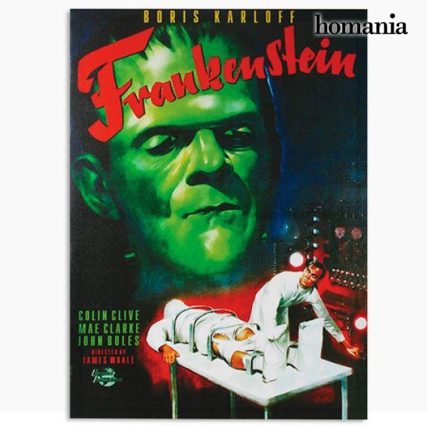 Image of   Frankenstein Billede på Linned Lærred 50 x 70
