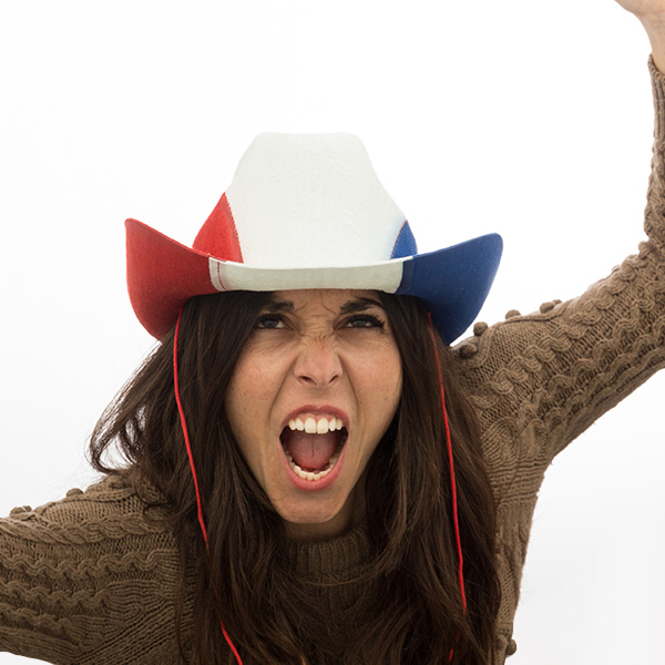 Image of   Fransk Flag Cowboyhat