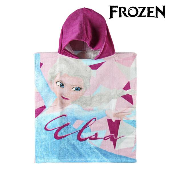 Image of   Frozen Poncho Hættehåndklæde