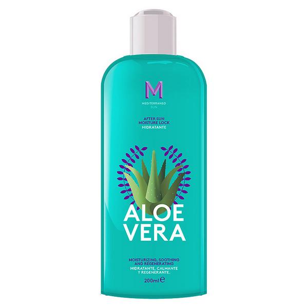 Image of   Fugtgivende bodylotion After Sun Aloe Vera Mediterraneo Sun (200 ml)