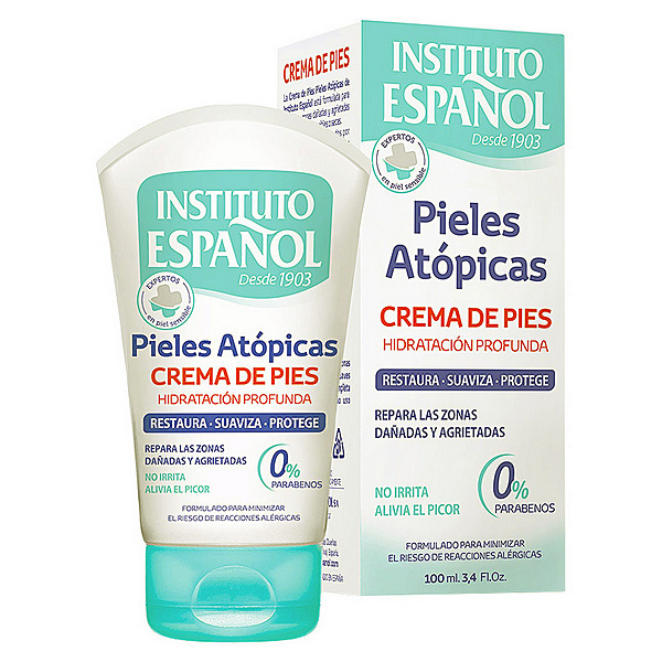 Image of   Fugtgivende Fodcreme Instituto Español (100 ml)
