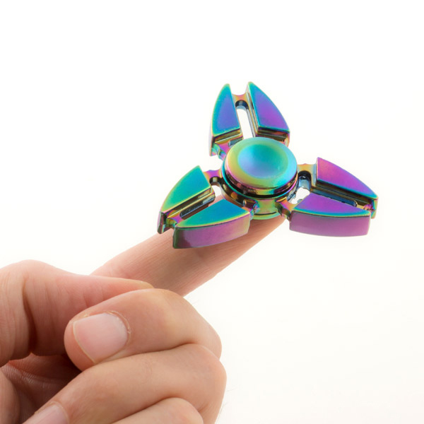 Image of   Gadget and Gifts Rainbow I Fidget Spinner