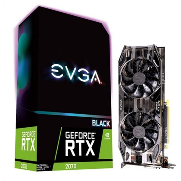 Image of   Gaming-grafikkort Evga NVIDIA RTX 2070 8 GB DDR6