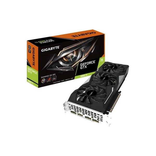 Image of   Gaming-grafikkort Gigabyte GTX 1660 Ti GDDR6