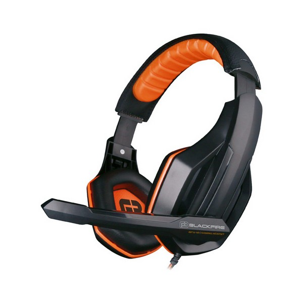 Image of   Gaming headset med mikrofon Ardistel BLACKFIRE BFX-10 PS4 Sort Orange