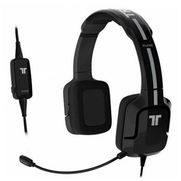 Image of   Gaming headset med mikrofon Kunai Tritton ST24 Sort/hvid