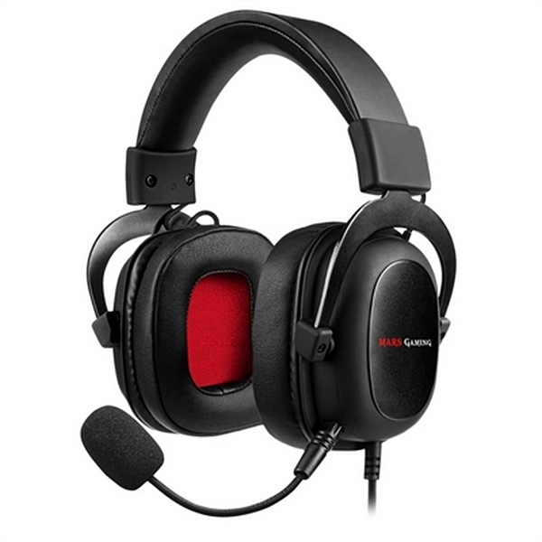 Image of   Gaming headset med mikrofon Mars Gaming MH5 (3.5 mm) Sort