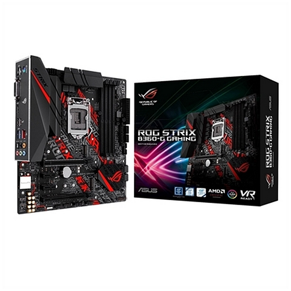 Image of   Gaming Motherboard Asus Rog Strix B360-G mATX DDR4 LGA1151