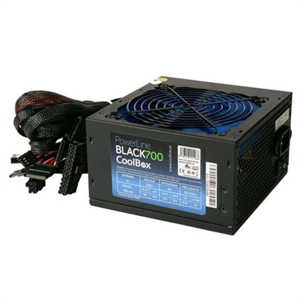 Image of   Gaming Strømforsyning CoolBox COO-FAPW700-BK 700W