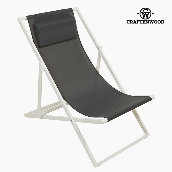Image of   Garden chair Aluminium Textilene Grå by Craftenwood