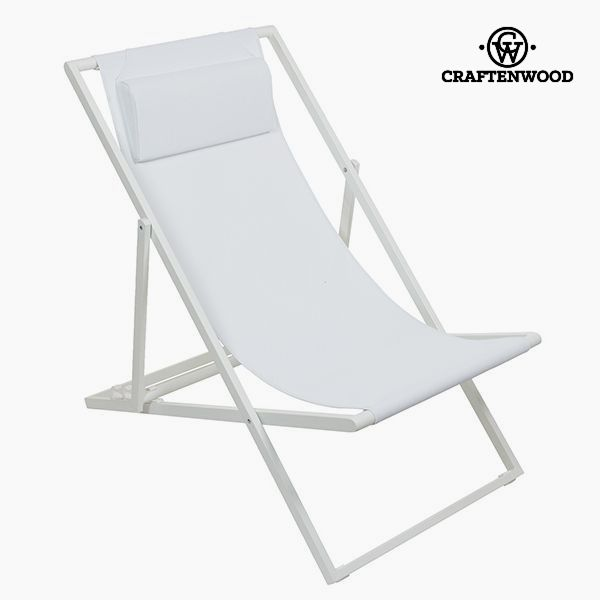 Image of   Garden chair Aluminium Textilene Hvid by Craftenwood